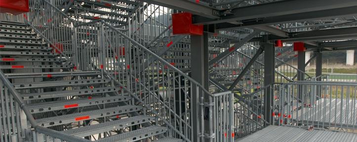 Louer un échafaudage d'accès chantier - APM