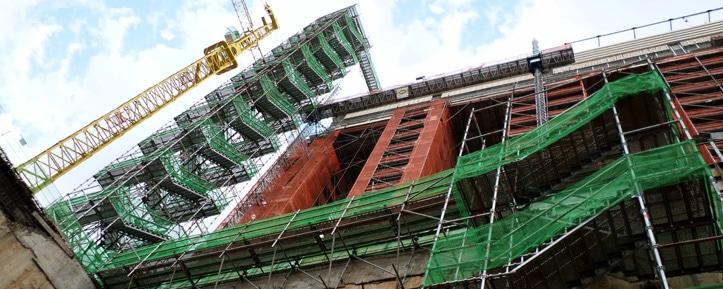Louer un échafaudage d'accès chantier - Tour à paliers APM
