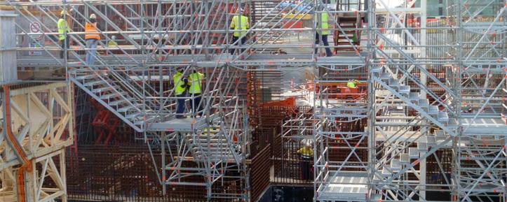Louer un échafaudage d'accès chantier - Tour Escalier APM