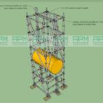 Installer un échafaudage dans une zone de production - APM Provence